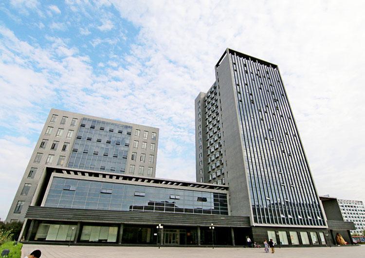 留学生宿舎が入っている建物