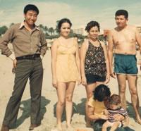 高田さん1972年、サンタモニカ
