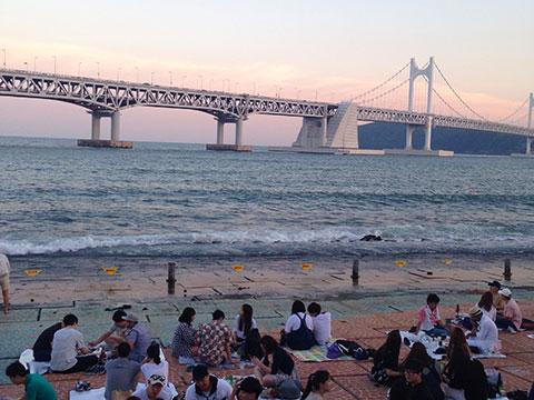 ▲釜山で学び、日本と韓国の架け橋に!