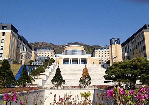 ▲Mさんが通う釜山外国語大学
