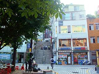 40階段文化通りの風景