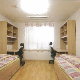 学生寮の例(イメージ)