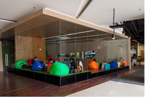 Student hangout area