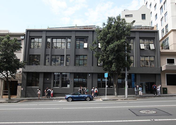 ▲2014年1月に移転した新校舎
