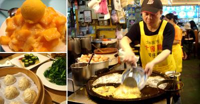 ▲朝から夜中まで美味しいものにありつける台湾。
