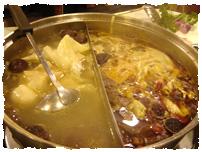 ▲ずばり台湾の鍋を味わえるお店もあります