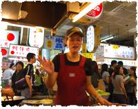 ▲台湾の温かな接客も魅力的