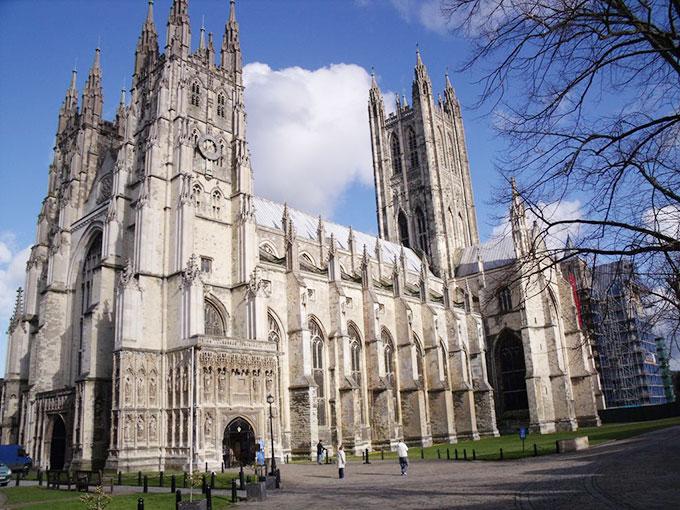街の中心地には世界遺産の大聖堂がある