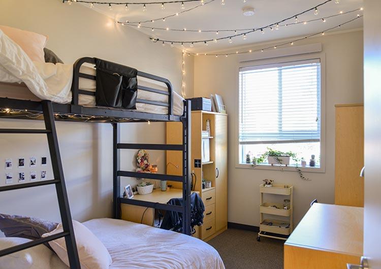 学生寮の部屋の例